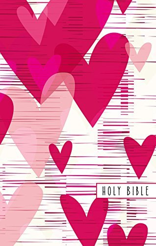 NIV Gift Bible for Kids (Large Print, Pink Hearts)