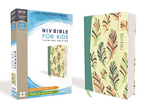 NIV Bible for Kids: Thinline Edition (Teal Flexcover)