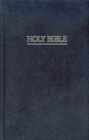 Pew Bible (New Revised Standard Version, Black)
