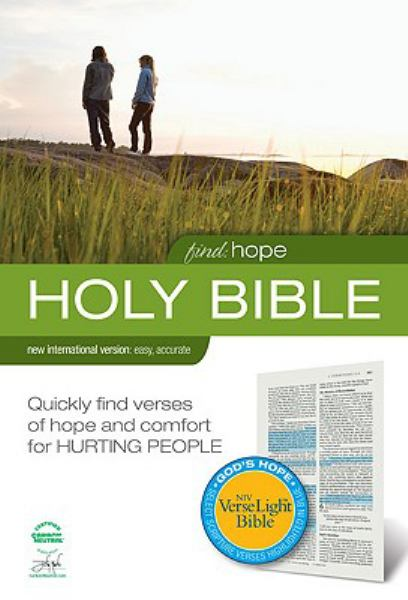 Find Hope Holy Bible (NIV, Text)