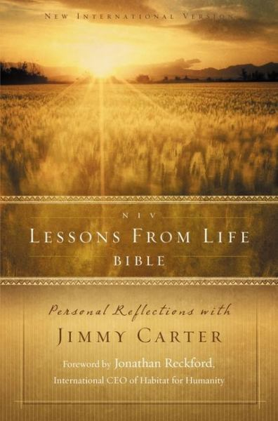 Lessons from Life Bible: Personal Reflections with Jimmy Carter (NIV)
