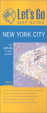 New York City (Let's Go Map Guide)