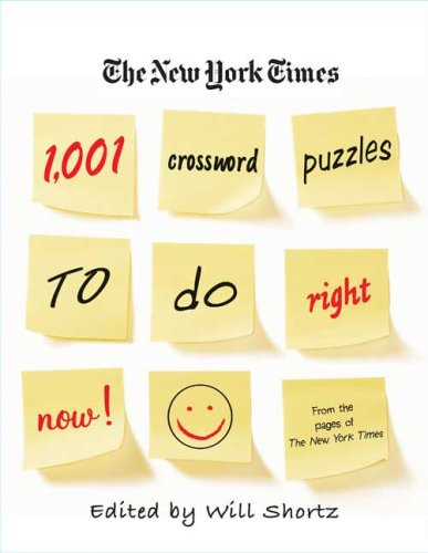 1,001 Crossword Puzzles to Do Right Now (New York Times)