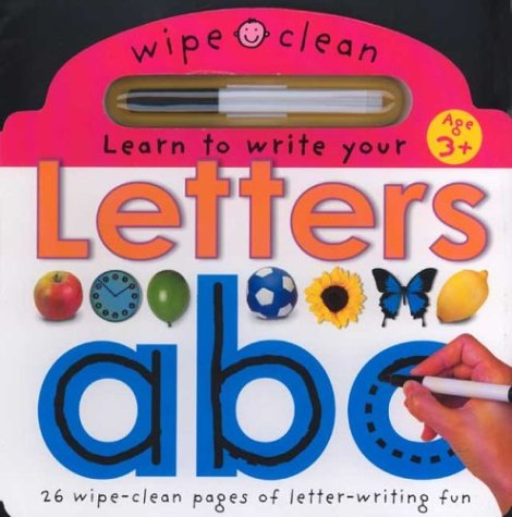 Learn To Write Your Letters (Wipe Clean)