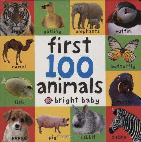 First 100 Animals (Bright Baby)