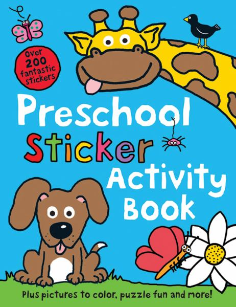 Preschool Color and Activity Book