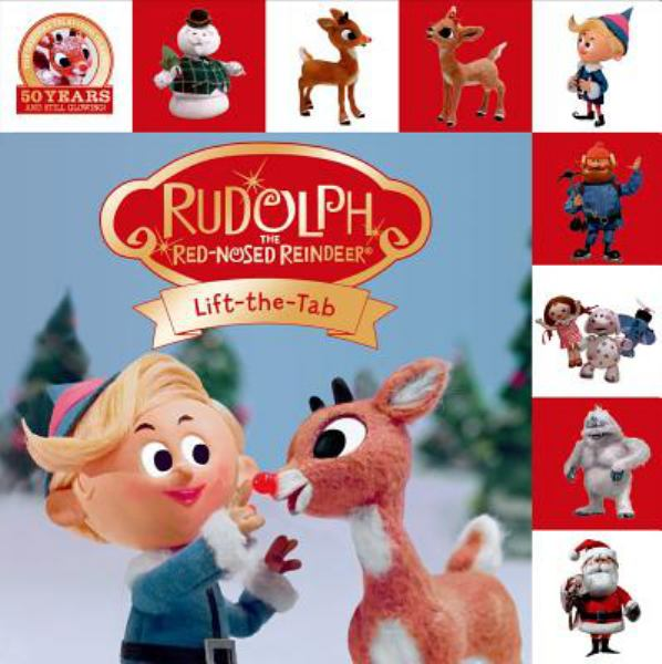 Rudolph the Red-Nosed Reindeer Lift-the-Flap Tab