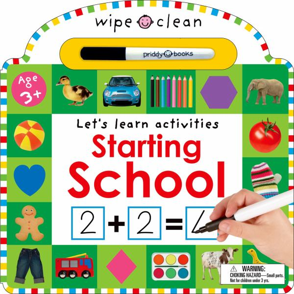 Starting School (Let's Learn Activities, Wipe Clean)