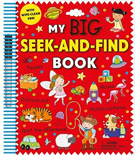 My Big Seek-and-Find Book with Wipe-Clean Pen!