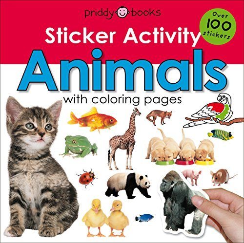 Animals Sticker Activity