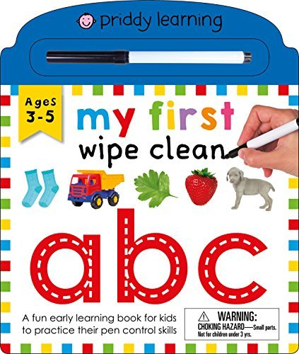My First Wipe Clean: ABC (Priddy Learning)