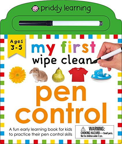 Pen Control (My First Wipe Clean Book)