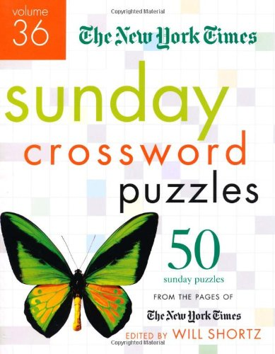 The New York Times Sunday Crossword Puzzles (Volume 36)