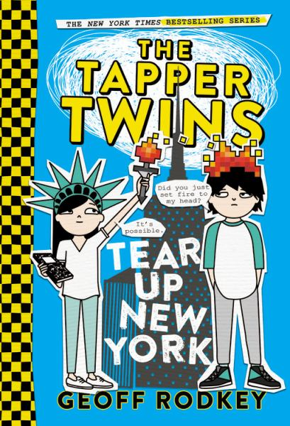 The Tapper Twins Tear Up New York (Tapper Twins, Bk. 2)