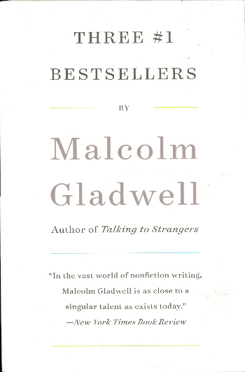 Malcolm Gladwell Boxed Set (The Tipping Point/Blink/Outliers)