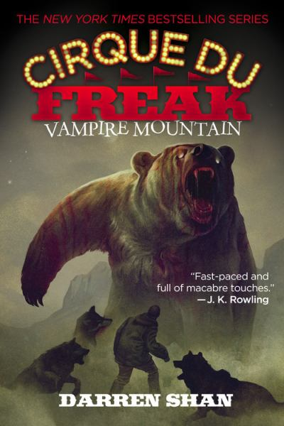 Vampire Mountain (Cirque Du Freak BK. 4)