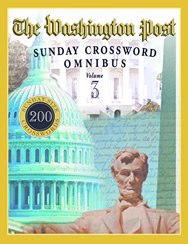 The Washington Post Sunday Crossword Omnibus (Volume 3)