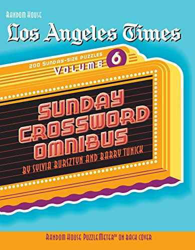 Los Angeles Times Sunday Crossword Omnibus (Volume 6)