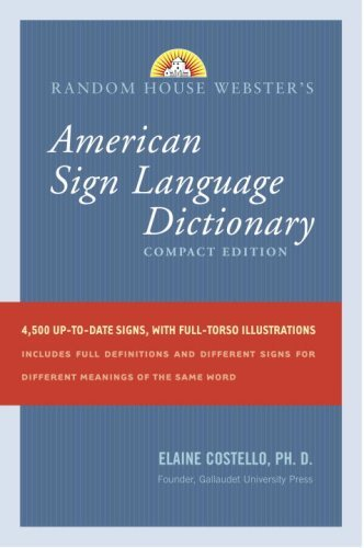 Random House Webster's Compact American Sign Language Dictionary