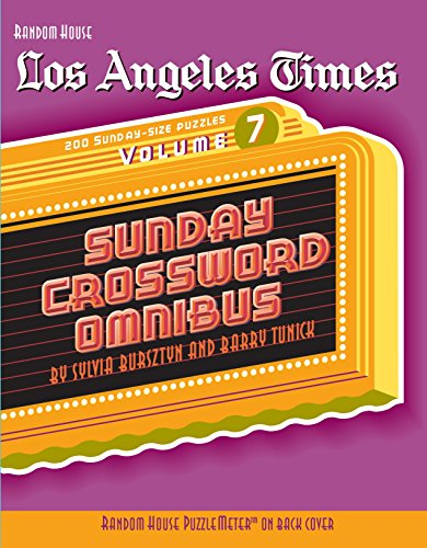 Los Angeles Times Sunday Crossword Omnibus (Volume 7)