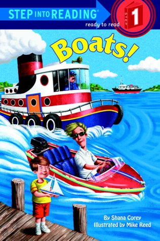 Boats! (Early Step into Reading, Preschool & Kindergarten)