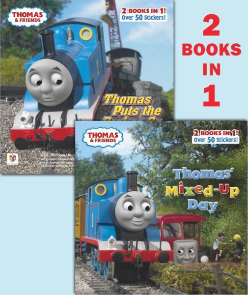 Thomas' Mixed-Up Day/Thomas Puts the Brakes On (Thomas and Friends 2 books in 1)