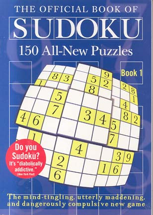 The Official Book of Sudoku (Book 1)