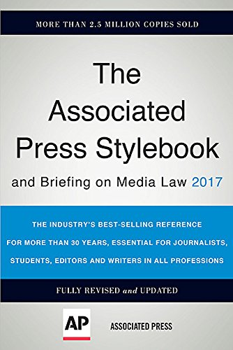 The Associated Press Stylebook and Briefing on Media Law 2017