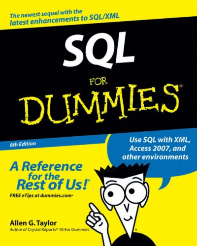 SQL For Dummies (6th Edition)
