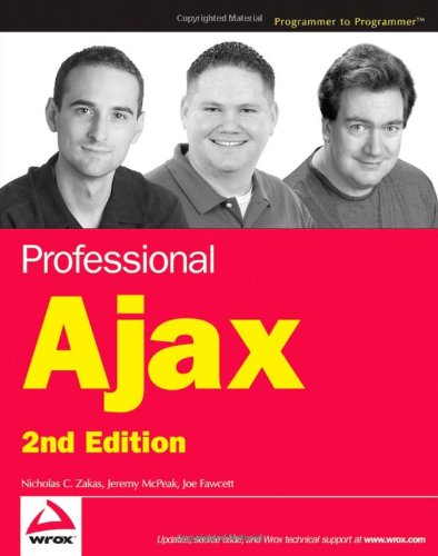 Professional Ajax (Programmer to Programmer, 2nd Edition)