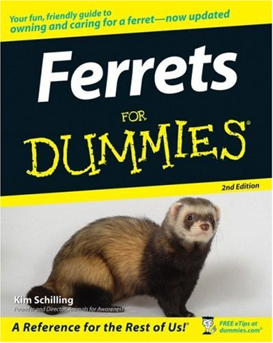 Ferrets for Dummies (2nd Edition)