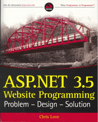 ASP.Net 3.5 Website Programming: Problem - Design - Solution (Wrox Programmer to Programmer)