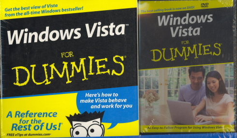 Windows Vista for Dummies (Book and DVD)