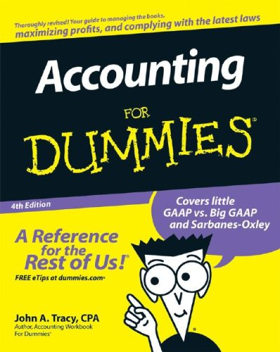 Accounting For Dummies (4th Edition)