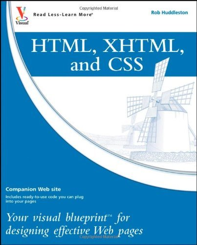 html-xhtml-css-your-visual-blueprint-for-designing-effective-web-pages
