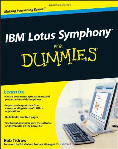 IBM Lotus Symphony For Dummies