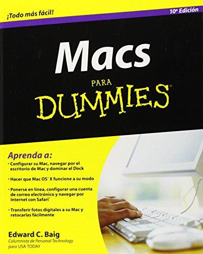 Macs Para Dummies (10th Edition)
