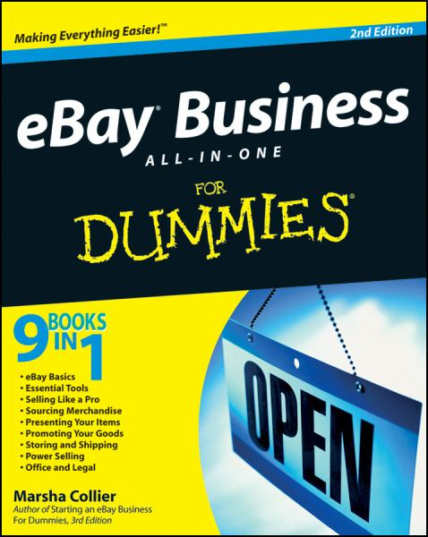 eBay Business All-in-One For Dummies (2nd Edition)