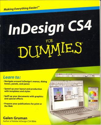 In Design CS4 for Dummies
