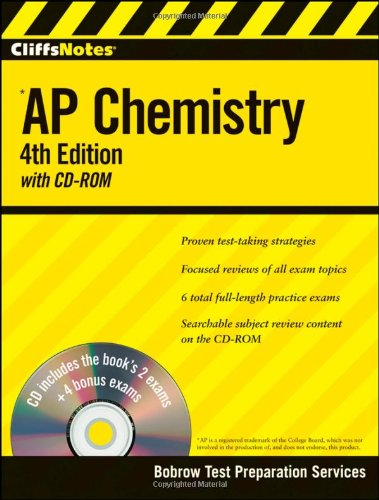 AP Chemistry (CliffsNotes, 4th Edition with CD-ROM)