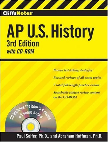 AP U.S. History (CliffsNotes, 3rd Edition with CD-ROM)