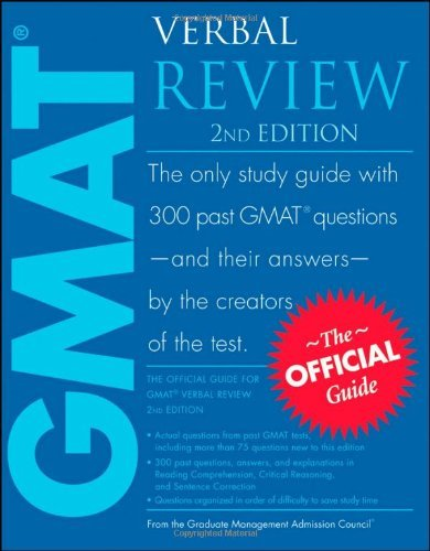 The Official Guide for GMAT Verbal Review (2nd Edition)