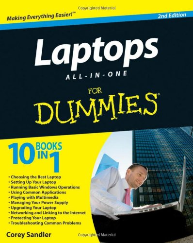 Laptops All-in-One For Dummies (2nd Edition)