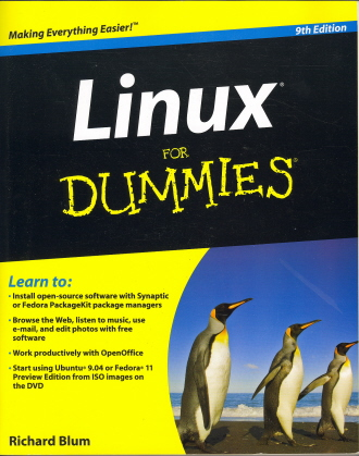 Linux For Dummies (9th Edition)
