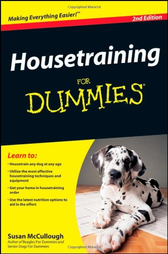 Housetraining For Dummies (2nd Edition)