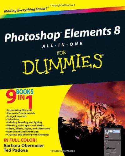 Photoshop Elements 8 All-in-One For Dummies