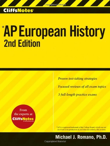 AP European History (Cliffs Notes, 2nd Edition)