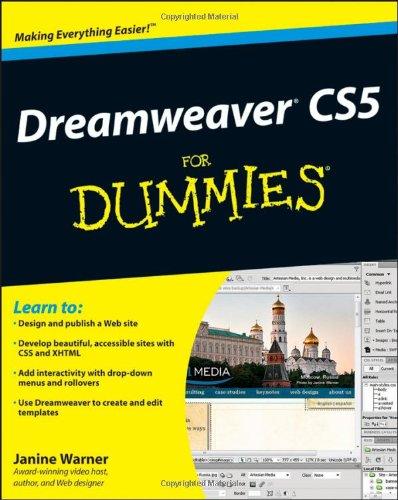 Dreamweaver CS5 For Dummies