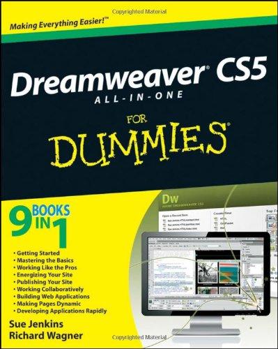 Dreamweaver CS5 All-in-One For Dummies