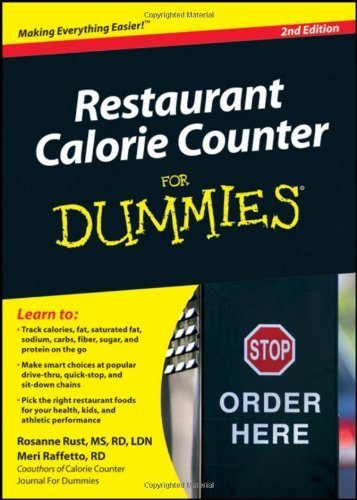 Restaurant Calorie Counter For Dummies